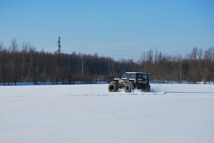 Снегоболотоходы